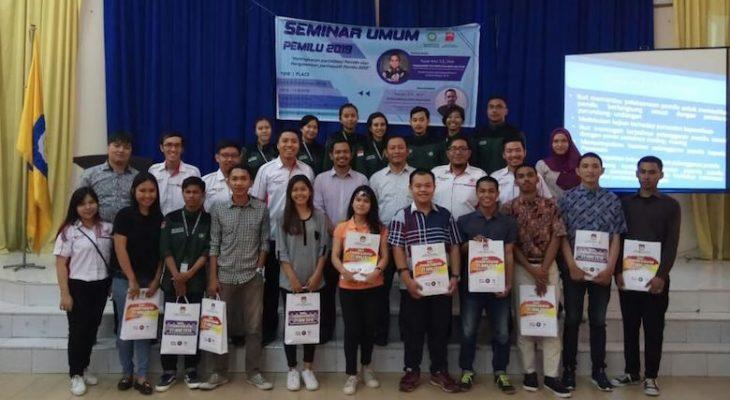 GEMA INTI Sulsel Gandeng KPU dan Bawaslu Adakan Seminar Partisipasi Pemilih