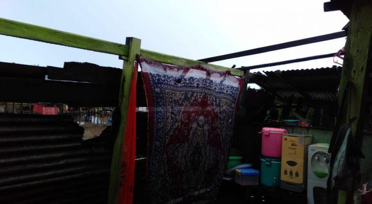 Angin Puting Beliung Porak Porandakan Rumah Warga di Kajuara