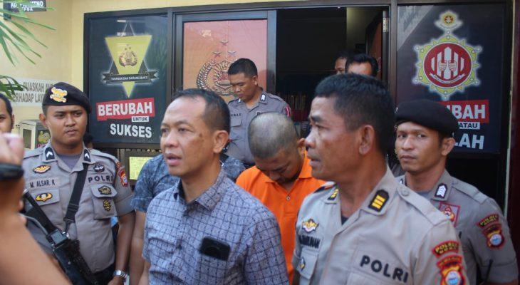 Polres Gowa Bawa Pelaku Pembunuhan Karyawati UNM ke Psikiater RS Bhayangkara