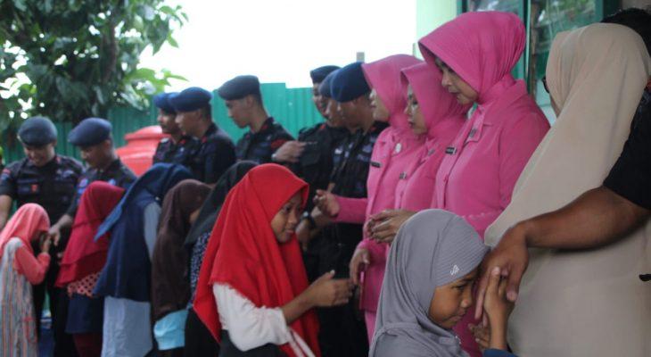 Program Sentuh Hati di Milad Ke-7 Angkatan 40 Tamtama Brimob Yon C Pelopor