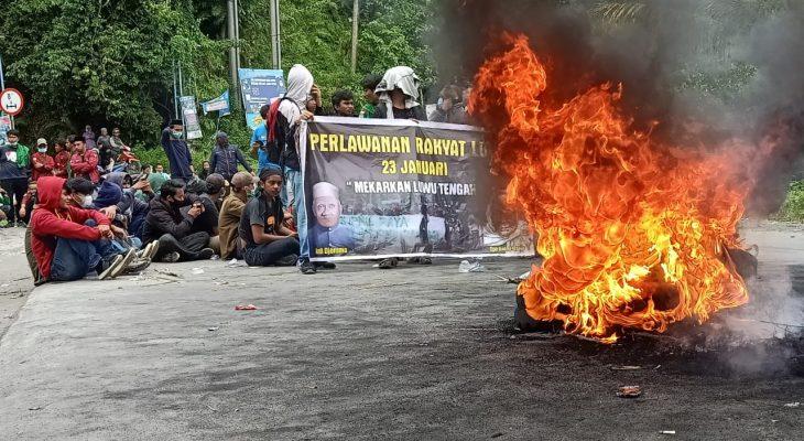 Hari Jadi Luwu ke-753 Diwarnai Unjuk Rasa, Ini Tuntutan Demonstran!