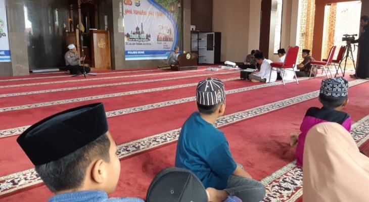 Peserta Padati Gema Ramadhan 1440 Hijriah Polres Bone