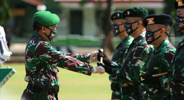 Kasdam Hasanuddin Pimpin Sertijab Tiga Komandan Batalyon, Ini Nama-namanya