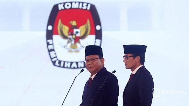 Prabowo-Sandi Deklarasikan Kemenangan Pilpres 2019