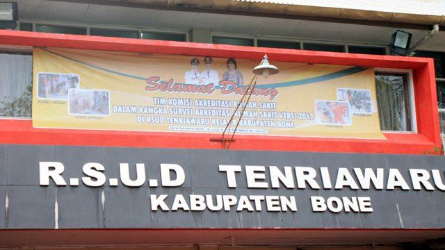 BREAKING NEWS, RSUD Tenriawaru Bone Isolasi PDP Corona