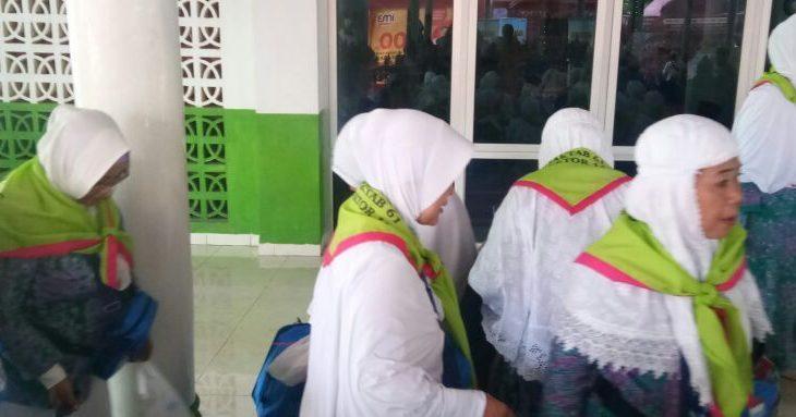 JCH Makassar dan Luwu Timur Masuk Asrama Haji Sudiang
