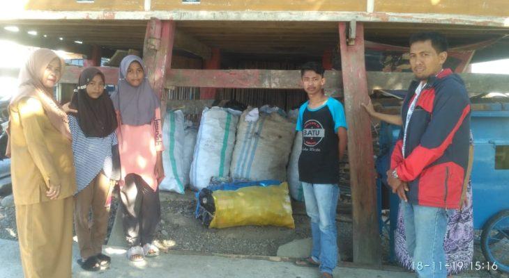Geliat Bank Sampah di Polewali Bone