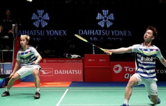 Kevin Sanjaya/Marcus Fernaldi Lolos Final Malaysia Masters 2019