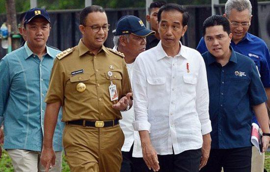 Presiden Jokowi Bantah Hubungannya Dengan Anies Bermasalah