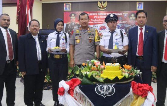 Kapolda Sulsel Irup Upacara HUT Satpam di SPN Batua Makassar