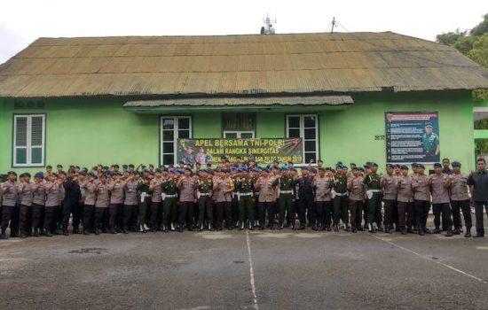 TNI-Polri Jalin Sinergitas Pengamanan Pemilu 2019 di Kabupaten Bone