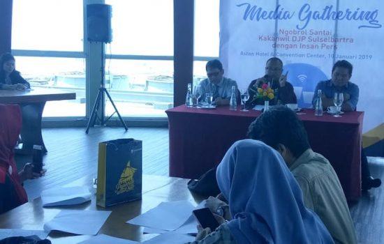 Perdana, DJP Sulselbartra Raih Kenaikan Penerimaan Pajak Sebesar 10,91 Persen