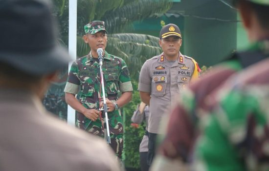 Menjaga Soliditas TNI-Polri, Polres dan Kodim Bulukumba Apel Bersama