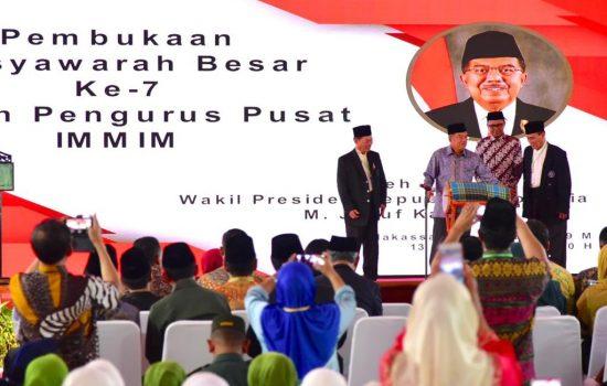 Gubernur Sulsel Dampingi Wapres JK Hadiri Mubes IMMIM ke 7