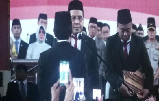 Danny Resmi Lantik Andi Ansar sebagai Sekda Makassar