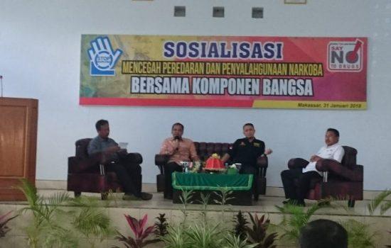 Hadiri Seminar Penyalahgunaan Narkoba di Makassar, Danny Paparkan Strateginya Berantas Narkoba