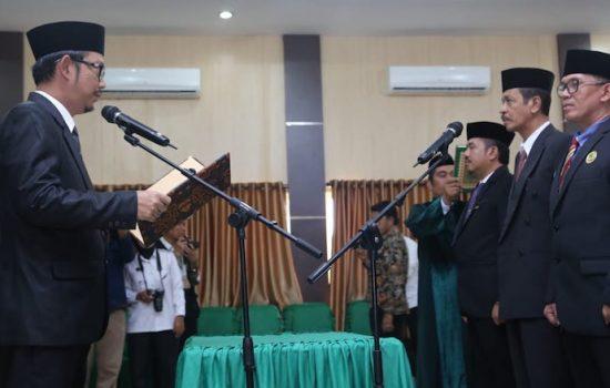 Wahyudin Hakim Resmi Jabat Kepala Kantor Kemenag Bone