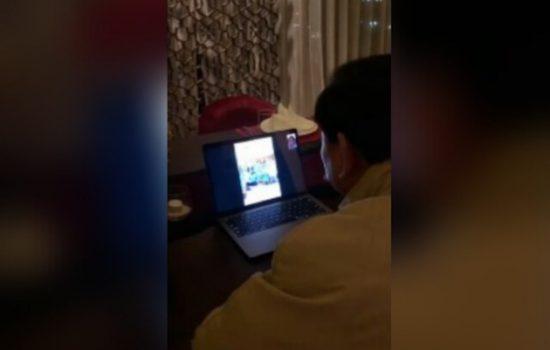 Akhir Pekan, Prabowo Luangkan Waktu Video Vall Bersama Relawan di London