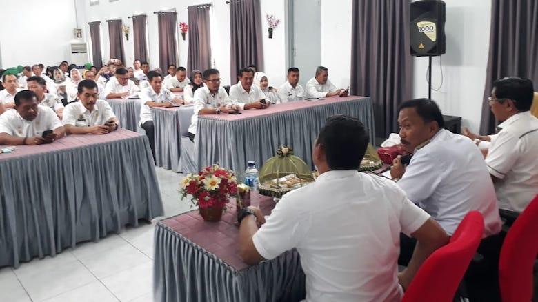 Rapat verifikasi Kabupaten Kota Sehat