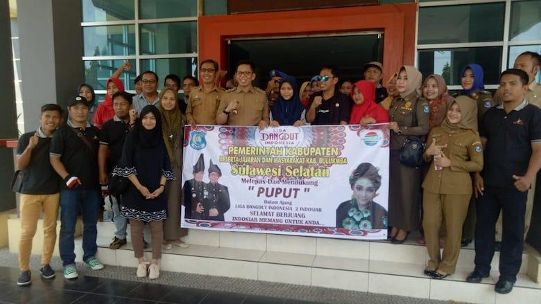 Wabup Tomy Satria Yulianto Lepas Puput Tampil di LIDA 2 Indosiar