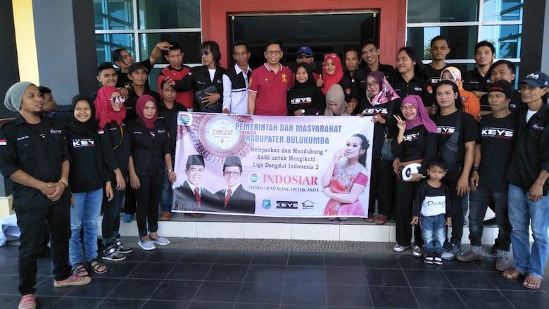 Wakil Bupati Tomy lepas peserta LIDA 2 Indosiar