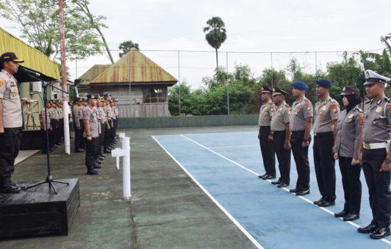 137 Anggota Polisi di Bone Naik Pangkat