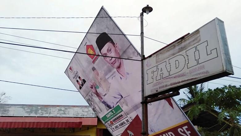 Baliho Caleg