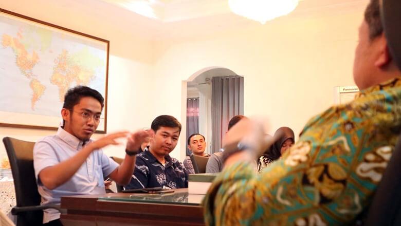 Belajar Politik, Ismail Bahctiar Temui Fahri Hamzah