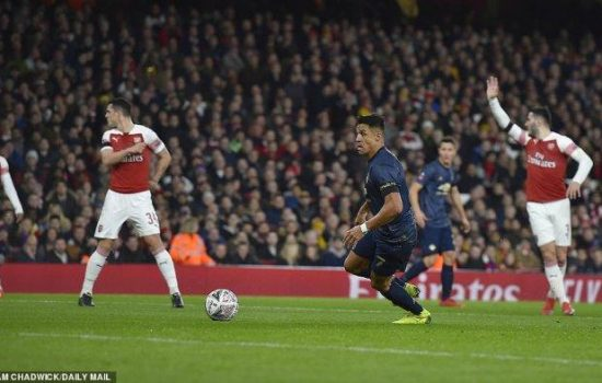 Hasil Akhir Pertandingan Arsenal vs Manchester United