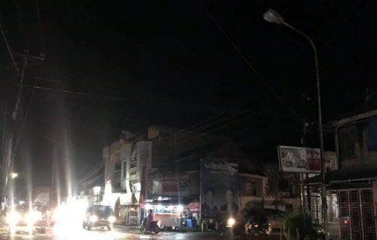 Warga di Sidrap Keluhkan Lampu Jalan Banyak Tak Menyala