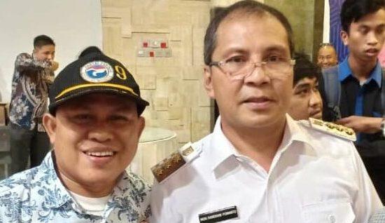 Ultah ke 55 Walikota Makassar, Askar: Selamat Ultah Pak Danny, Walikota Kebanggaanku