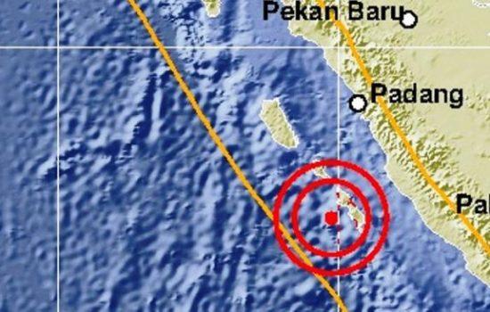 Sumatera Barat 3 Kali Berturut – turut di Guncang Gempabumi