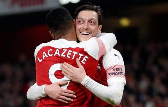 Liga Inggris : Arsenal Bantai Bournemouth 5-1