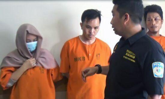 Edarkan Sabu dan Ekstasi, Pasangan Suami Istri Ini Diringkus Polisi