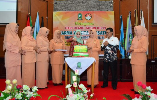 Peringati Hut DPW ke 19 Tingkat Kabupaten, Ini Harapan Hj Ria Akbar