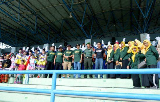 13 Tim Drumband Perebutkan Piala Bergilir Bupati Bone MDC 2