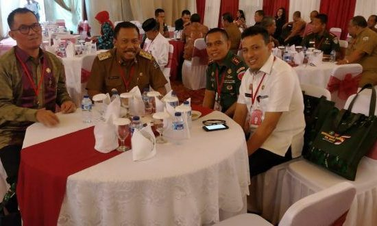 Dandim Bersama Wabup Bone Hadiri Rakornis TMMD ke-104 di Jakarta