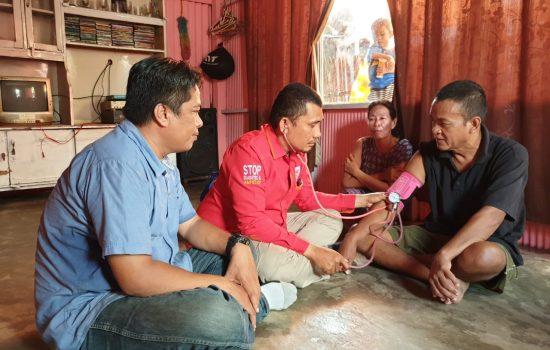 Sahabat Sehat Radar Jaya Sambangi Kecamatan Pallangga