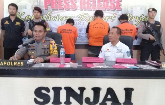 Bandar Sabu dan Dua Pelaku Narkoba di Sinjai Diringkus Polisi