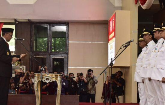 Gubernur Sulsel Lantik Bupati-Wakil Bupati Wajo dan Luwu