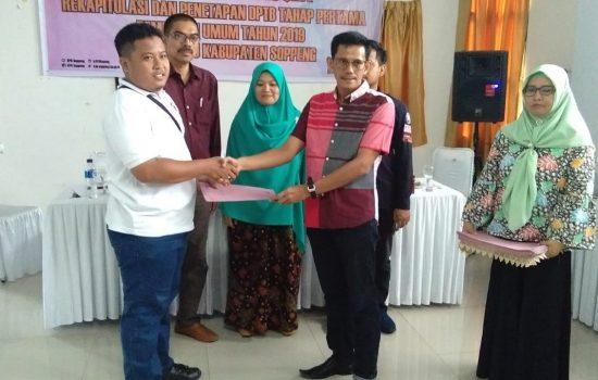 180.734 Pemilih di Soppeng Setelah Penetapan DPTHP-2