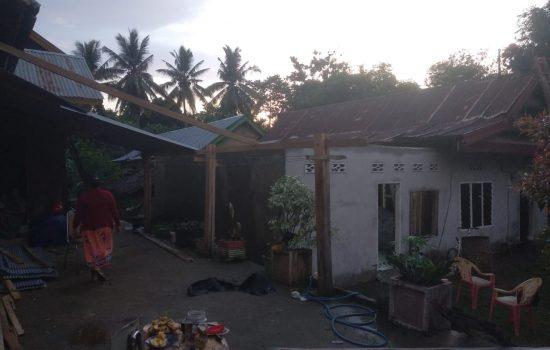 Puting Beliung Kembali Terjang Bone, Tiga Rumah Rusak