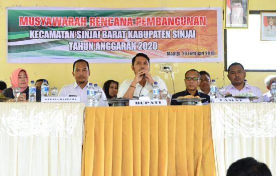 Hadiri Musrenbang, Bupati Prioritaskan Kebutuhan Masyarakat  Sinjai