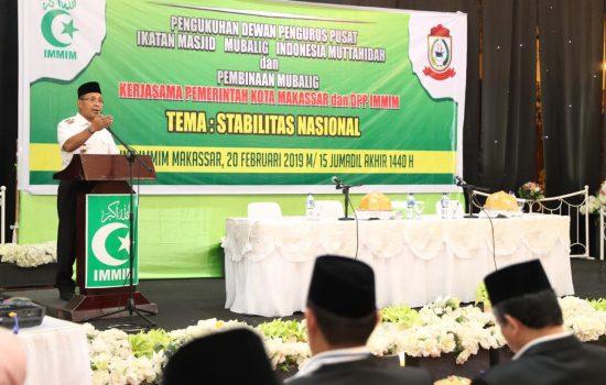 Danny Pomanto Buka Upgrading Mubalik dan Melantik Dewan Pengurus Pusat IMMIM
