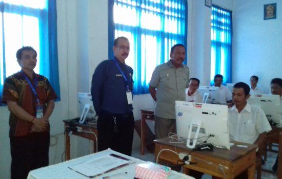 Wakil Bupati Bone Pantau Ujian Seleksi PPPK