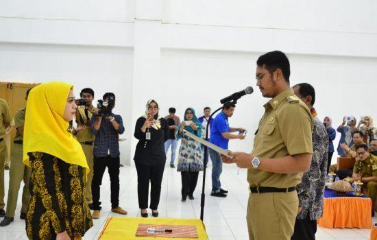 Bupati Kukuhkan Ketua TP PKK Sebagai Bunda Baca Kabupaten Sinjai