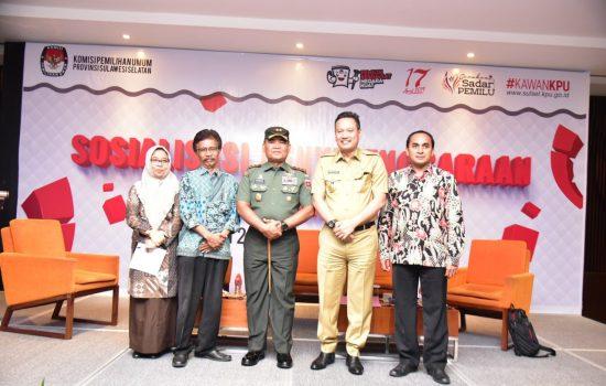 Pangdam XIV/HSN Pastikan TNI Netral Dalam Pemilu
