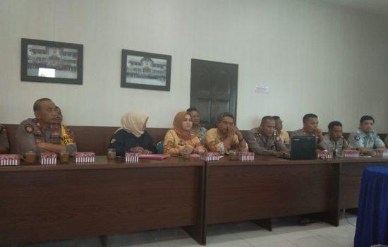 Sukseskan MRSF, Polres Soppeng Gelar Rapat Bersama Pemerintah Daerah dan PGK