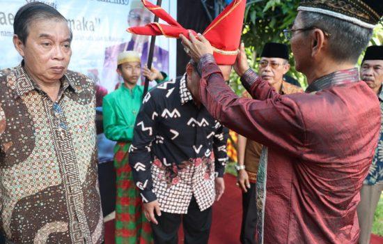 Karaeng Polombangkeng Sematkan Gelar Karaeng Salamaka ke Walikota Makassar