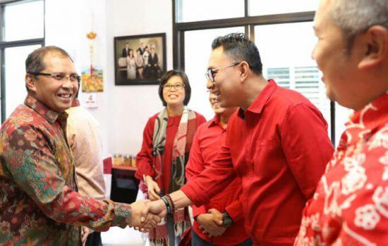 Imlek, Danny Jalin Silatuhrahim Dengan Tokoh Tionghoa